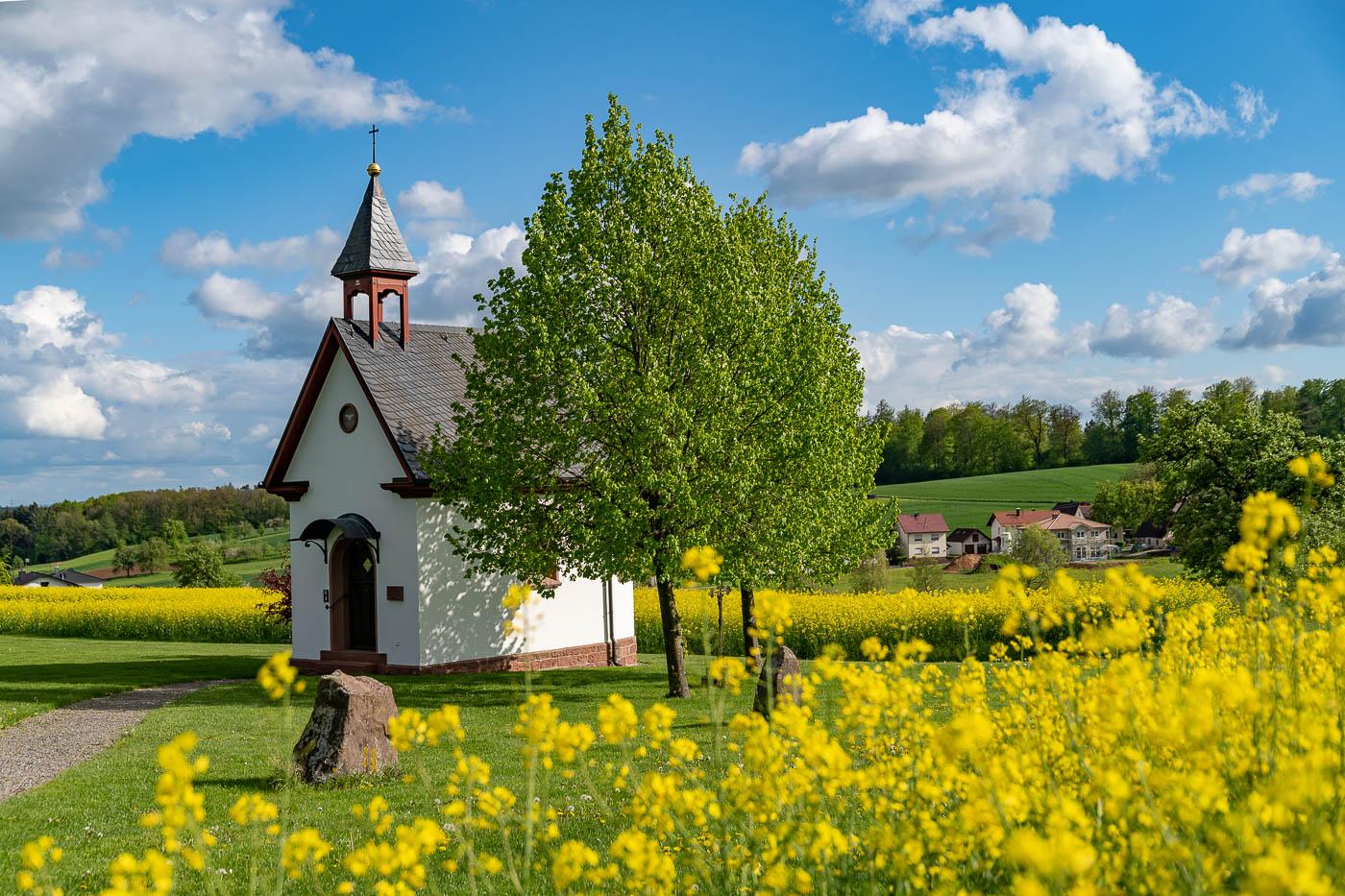 Kapelle der Familie Wolf in Sattelbach