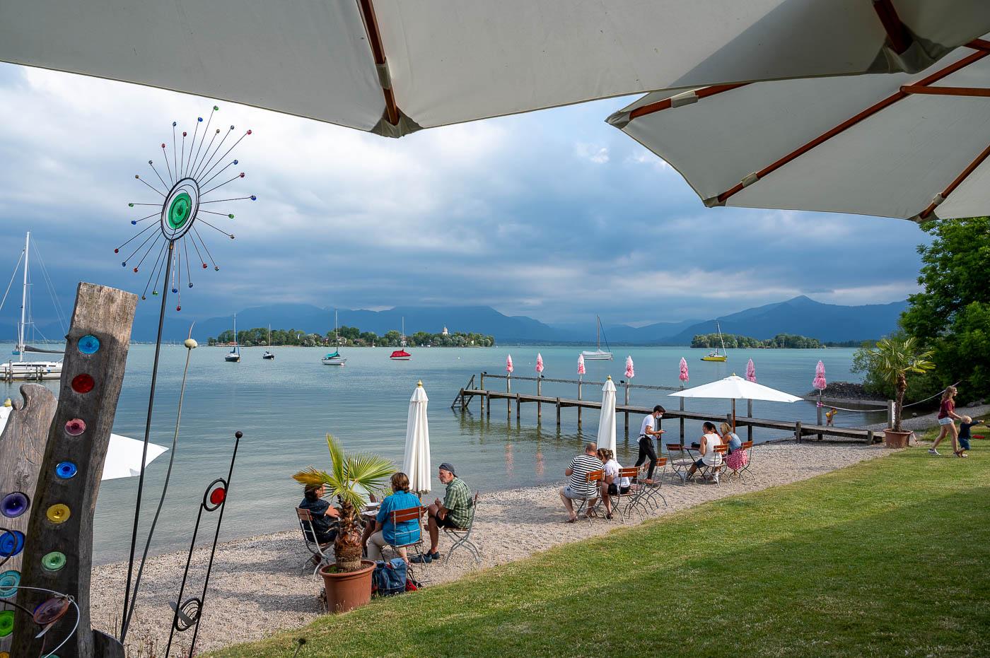 Strand beim Café Inselblick